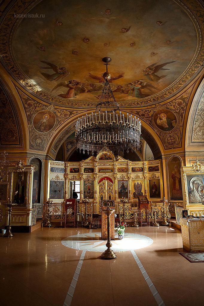 Крещение Ульяны в Храме Феодора Стратилата на Чистых прудах