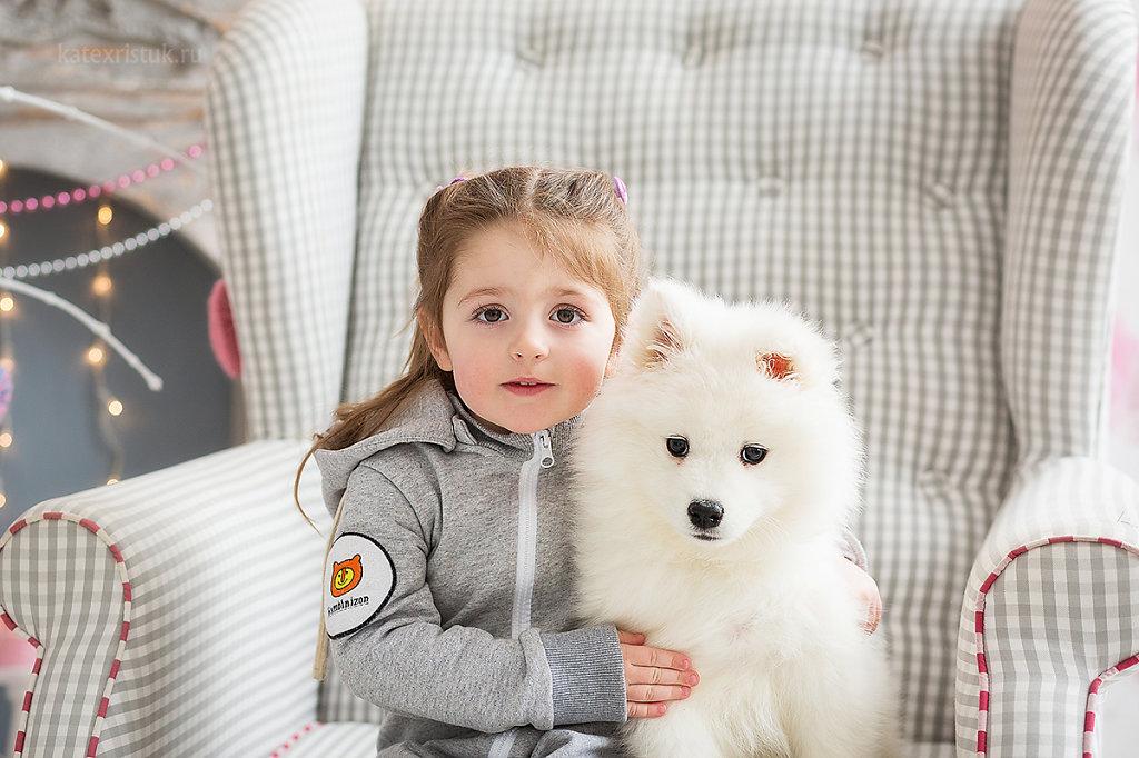 Фотосессии с щенками